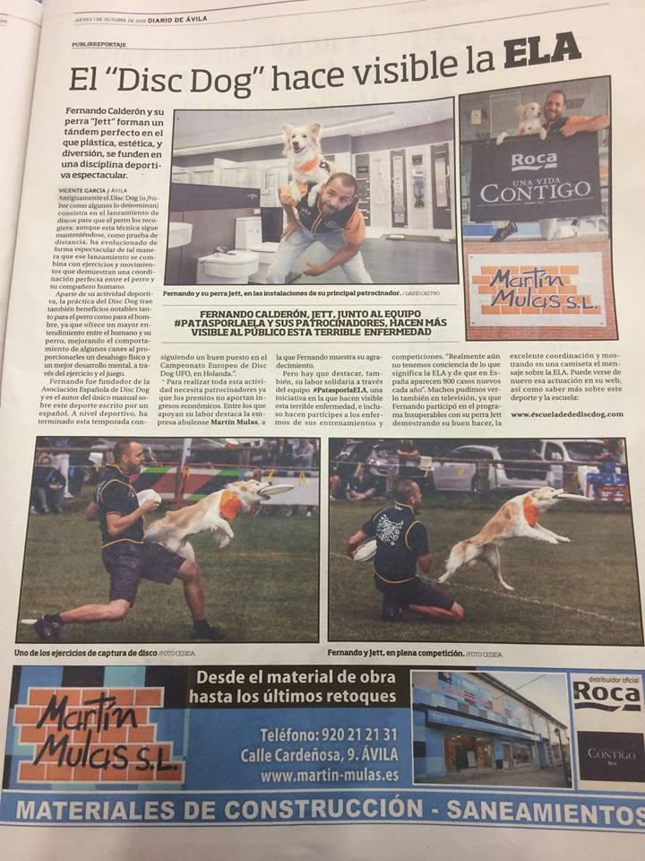 Diario de Ávila - Europeo UFO