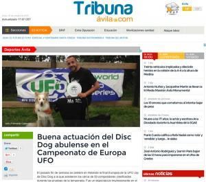 Tribuna de Ávila - Campeonato de Europa UFO