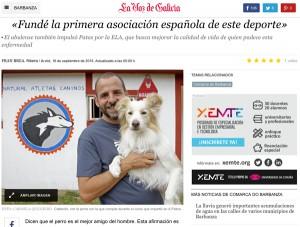 La voz de Galicia - Seminario con Atletas Caninos